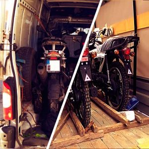 Перевозка мотоциклов